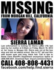 sierra lamar disappearance anniversary passes; see past coverage